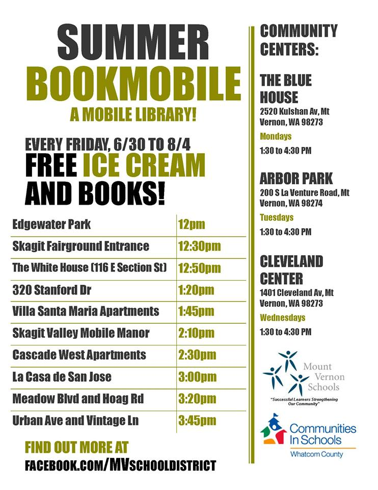 Summer Bookmobile Information